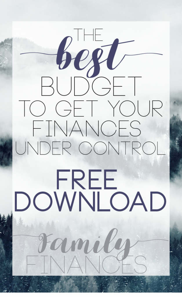Excel Budget FREE download! (With images) Excel budget