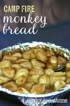 Campfire Monkey Bread Recipe