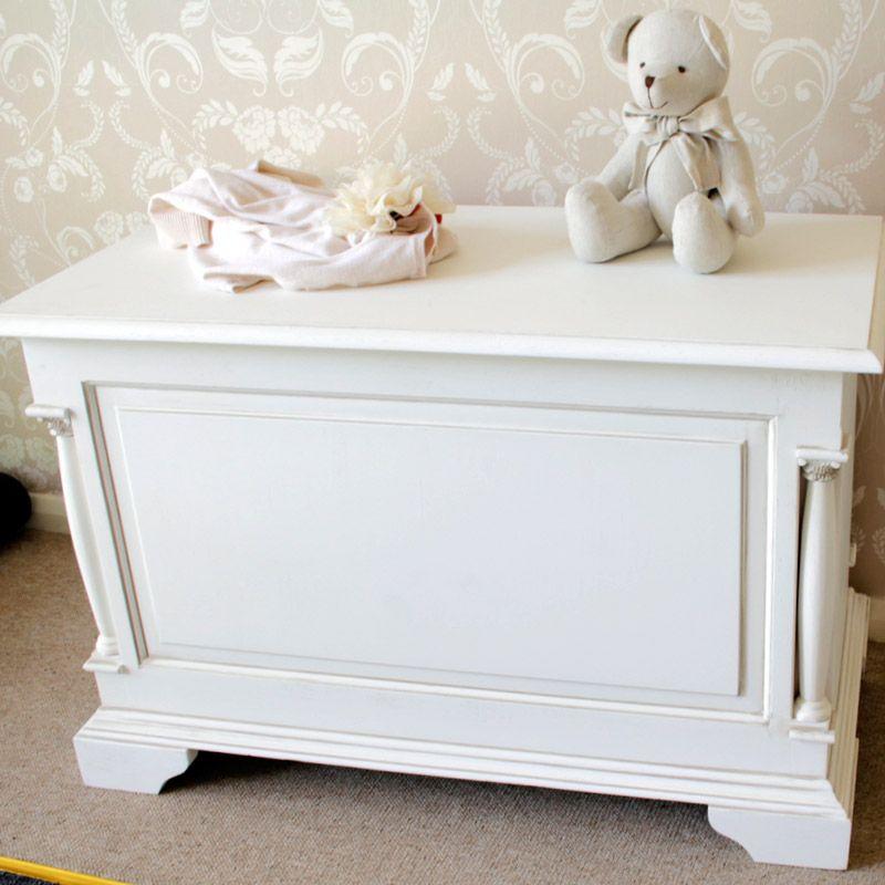 Canterbury Range - Wooden Blanket Storage box