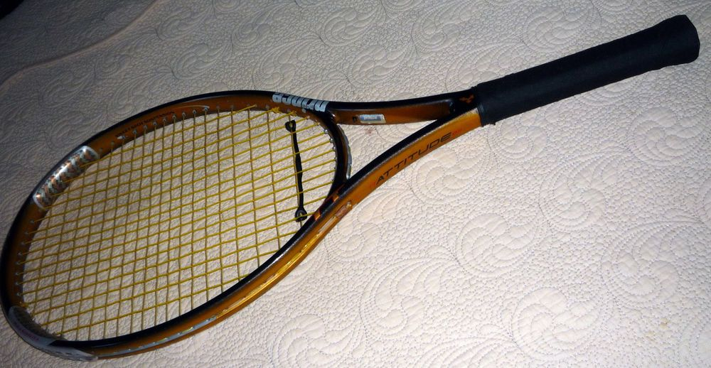 Prince Tt Triple Threat Attitude 4 1 2 With Cover Great Condition Free Shipping Triple Threat Prince Tennis Racquet