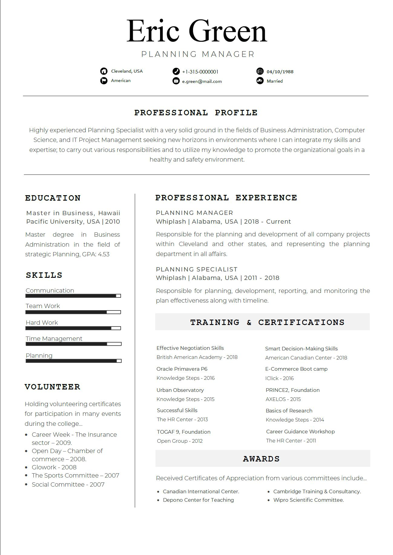 Pin by official cv on Template CV Templates, Language