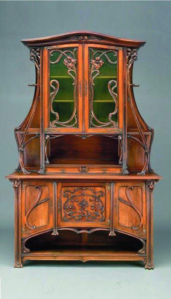 antique art nouveau china cabinets   Google Search. antique art nouveau china cabinets   Google Search   Art Deco