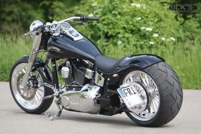 Harley Fatboy Harley Davidson Fatboy Softail Custom Harley Davidson Sportster