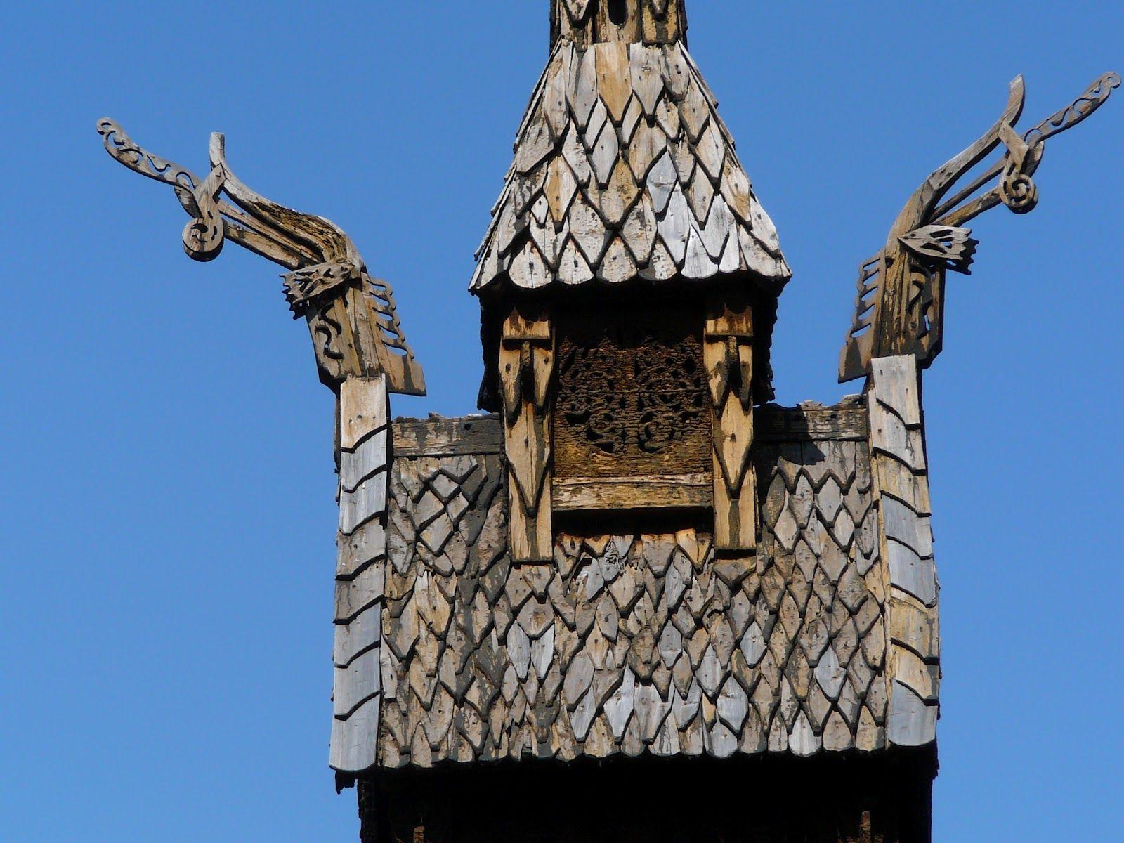 Borgund Stave Church Roof