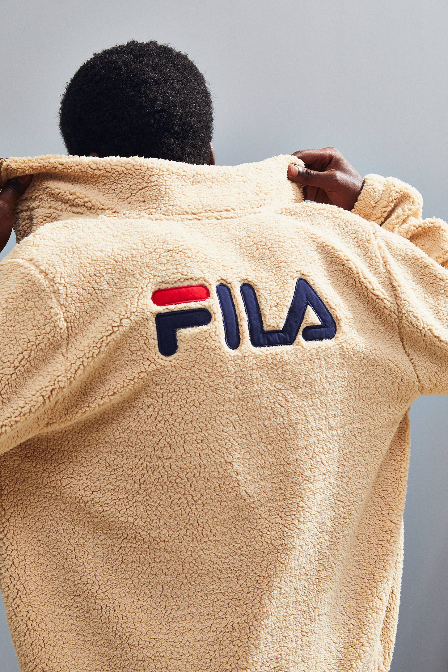 afdd7e8bf0a3 FILA UO Exclusive McMillan Zip-Up Sherpa Sweatshirt Jacket in 2019 ...