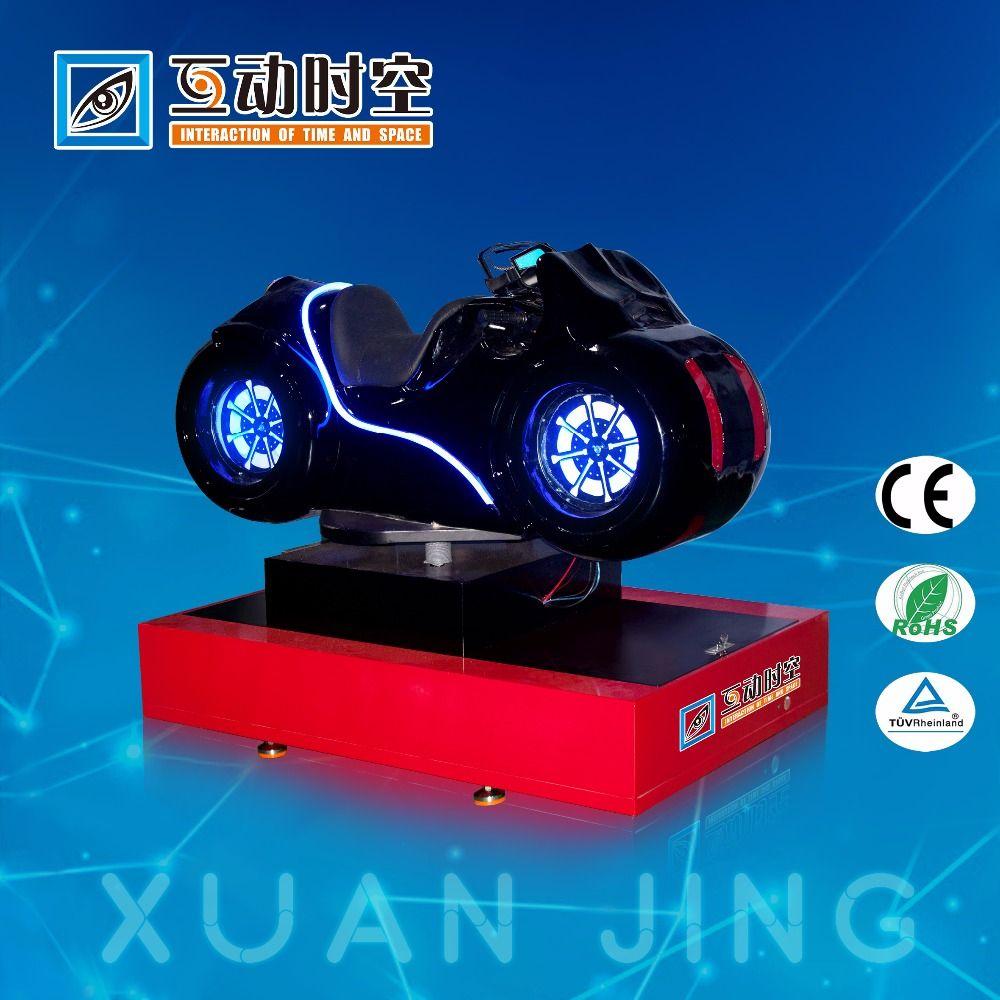 VR motorbike racing simulator 3 servo motor controlled