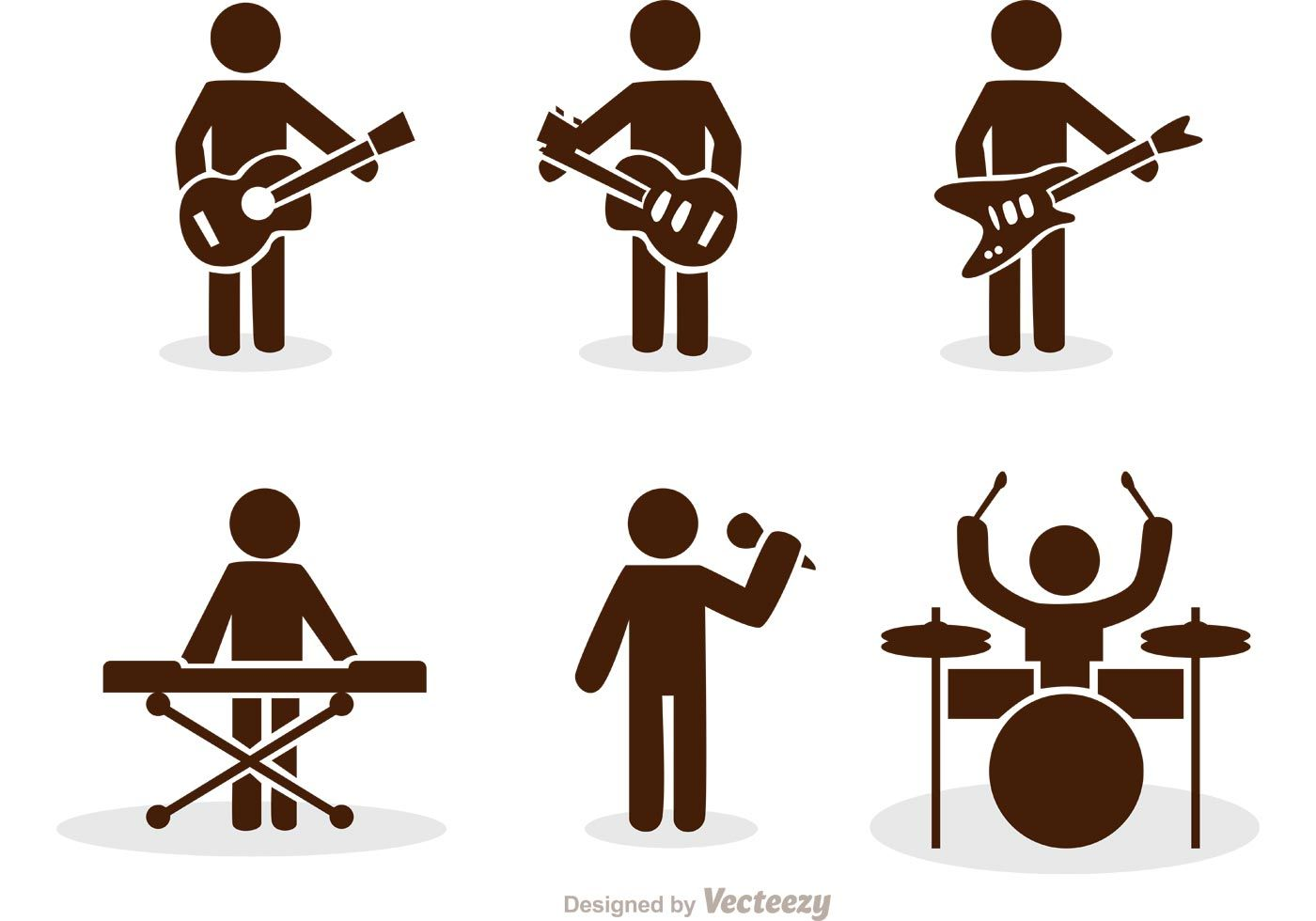 Illustration of band stick figure icons vector pack rock and illustration of band stick figure icons vector pack rock and roll use these stick biocorpaavc