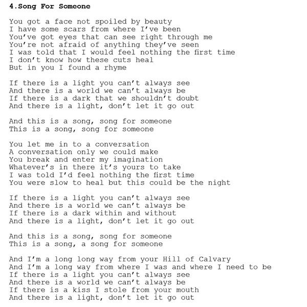 U2 News Sing Song For Someone Then Upload It Songs To Sing Songs Feeling Nothing