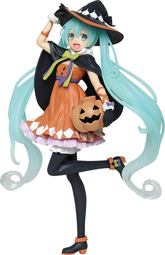 Amazon Com Taito 7 Hatsune Miku 2nd Season Autumn Version Action Figure Toys Games Anime Figures Halloween Figures Hatsune Miku