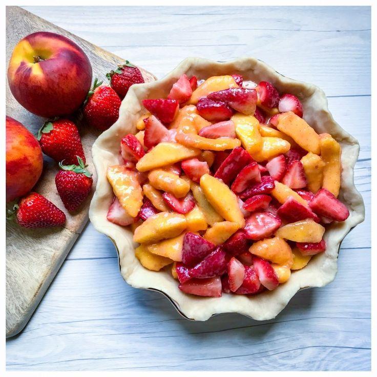 Wie man die beste Erdbeer-Pfirsich-Torte aller Zeiten macht!  - Pies! -