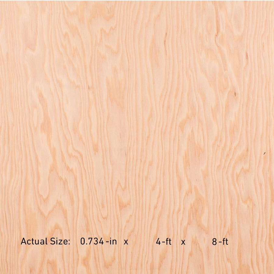3/4 Cat Ps109 Square Structural Plywood Marine Grade