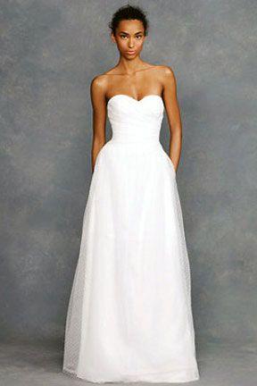 Superior D Weddings | A Classically Modern Dream Dress For Less From J. Crew Fleur  Dress
