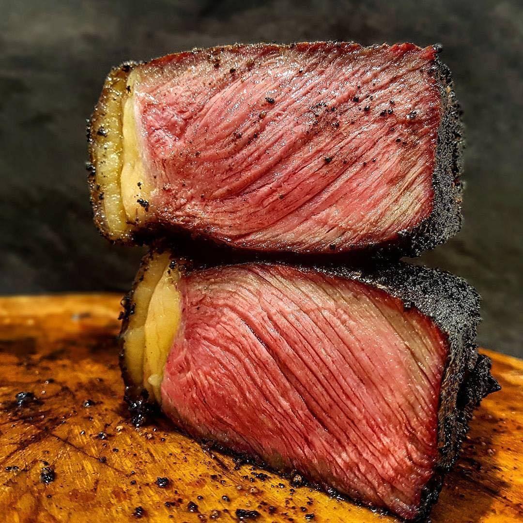 Steak ny crust strip