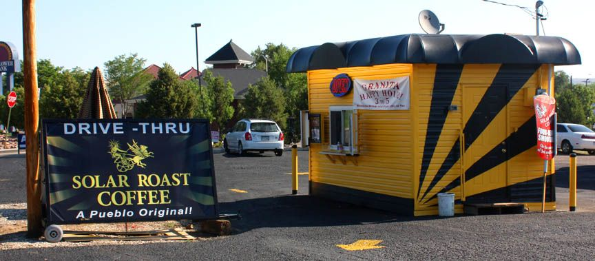 Immobile Coffee Drive Thru By Solar Roast Coffee Converting A