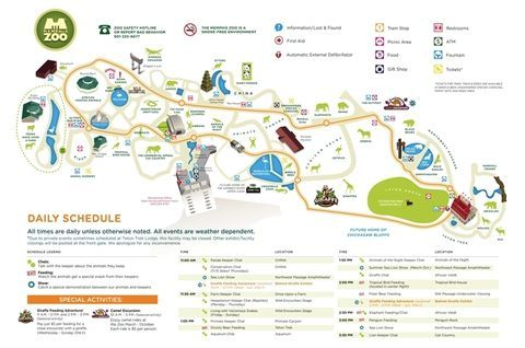 Memphis Zoo Map Memphis Zoo Map & Info | Youth Group | Pinterest | Travel