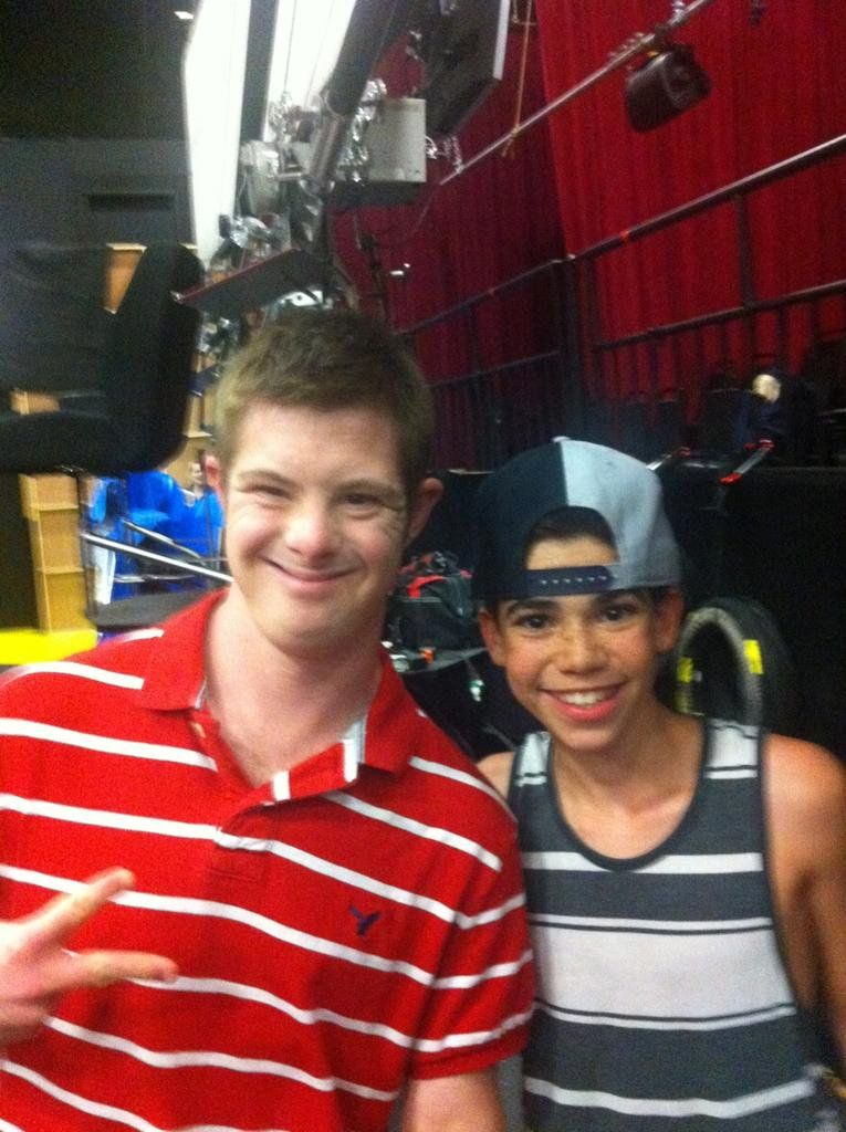 I was at taping show of Disney channel with Karan Brar and