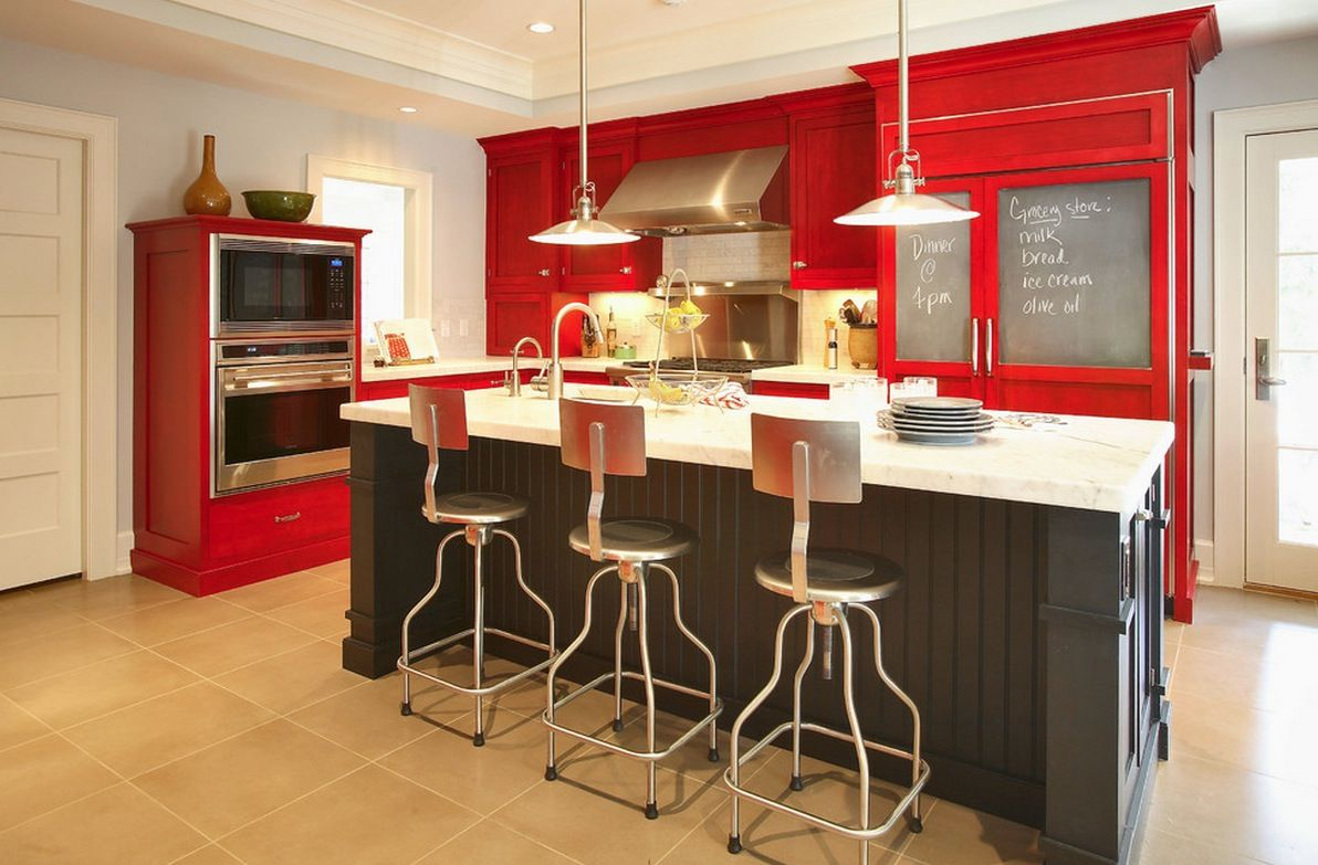 kitchen color ideas red wood stain cabinets 10 Things You May Not Know About Adding Color & kitchen color ideas red wood stain cabinets 10 Things You May Not ... islam-shia.org