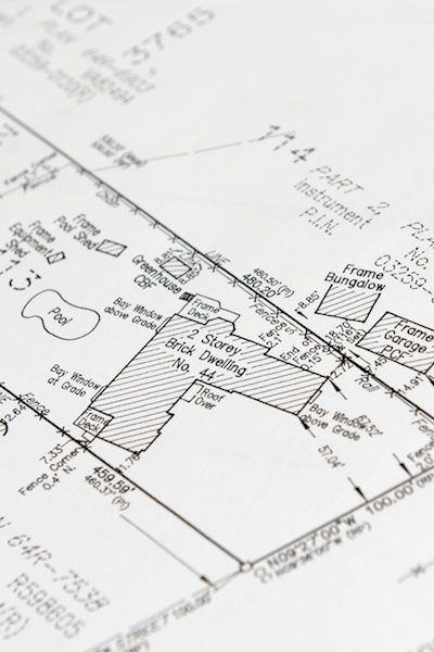 Building A Fence Shed Or Other Structure On Your Property Consult - Property line survey map