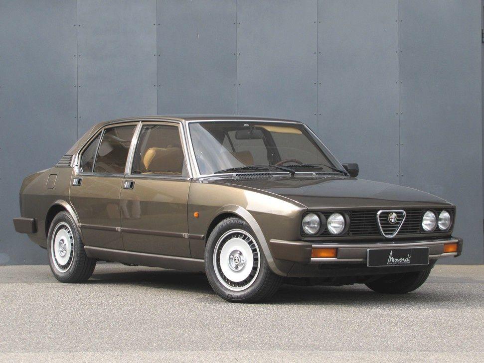 Alfa Romeo Alfetta 1 8 Automobile Auto Alfa Romeo