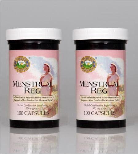 naturessunshine female menstrual glandular support herb herbal cycle reg system capsules pack supplements