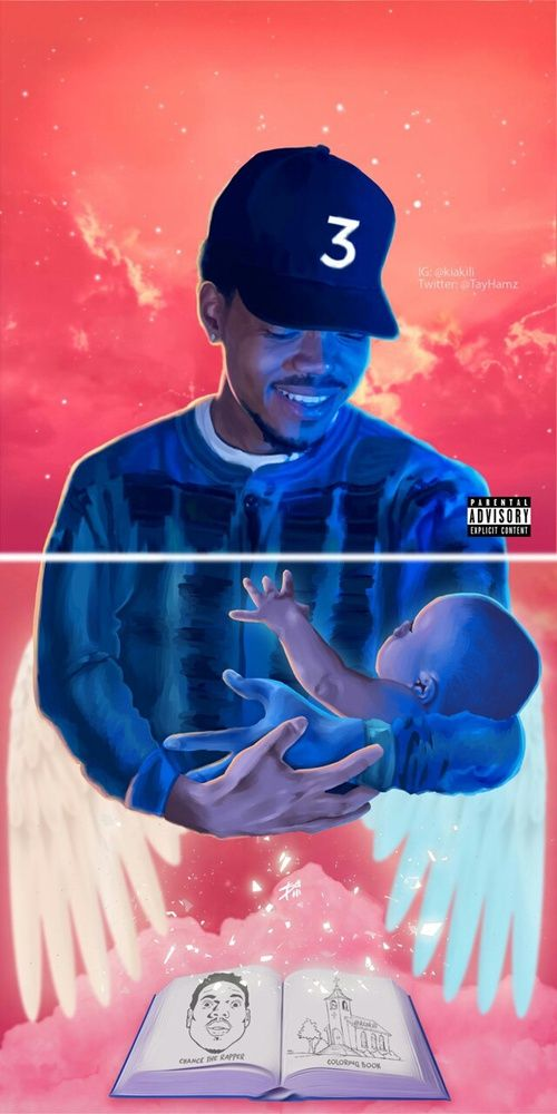 101 Coloring Book Chance The Rapper Album Free Images