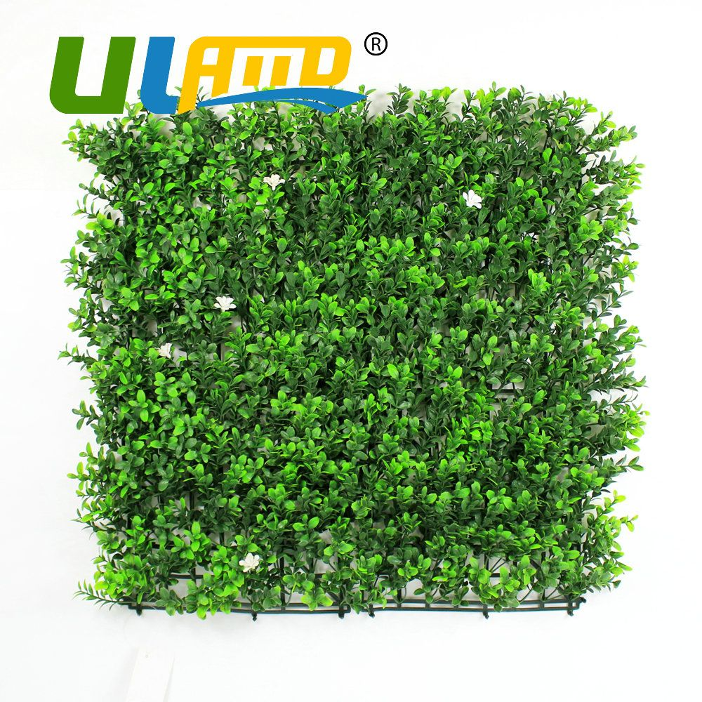 Uland xcmpc artificial boxwood hedge uv removable privacy fence