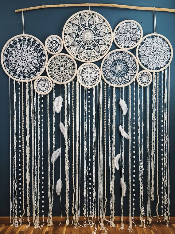 Dreamcatcher Wall Hanging Wedding Decor Photo Backdrop Dream