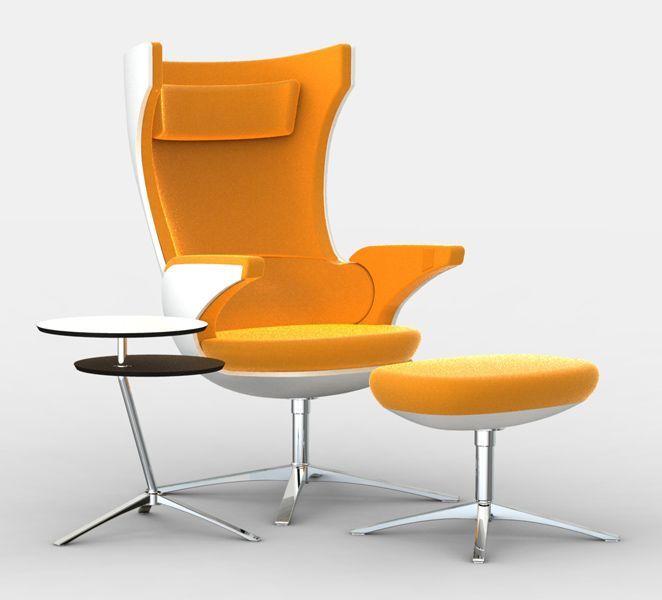 I Sit Wing Back Swivel Chair