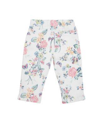 Carters Little Girls Puff-Print Capri Leggings