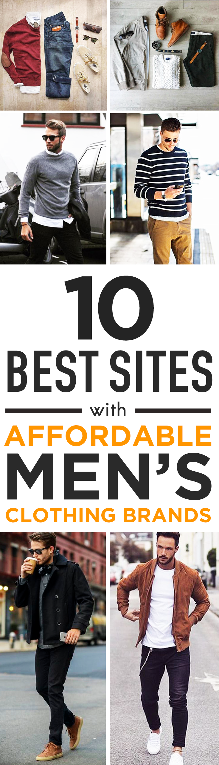 7fdb12d12e3 10 Best sites with affordable men s clothing brands. The top websites for affordable  mens clothing stores and brands. These online shops offer inexpensive