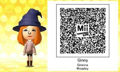 Ginny Weasley I Made For Tomodachi Life Ginnyweasley