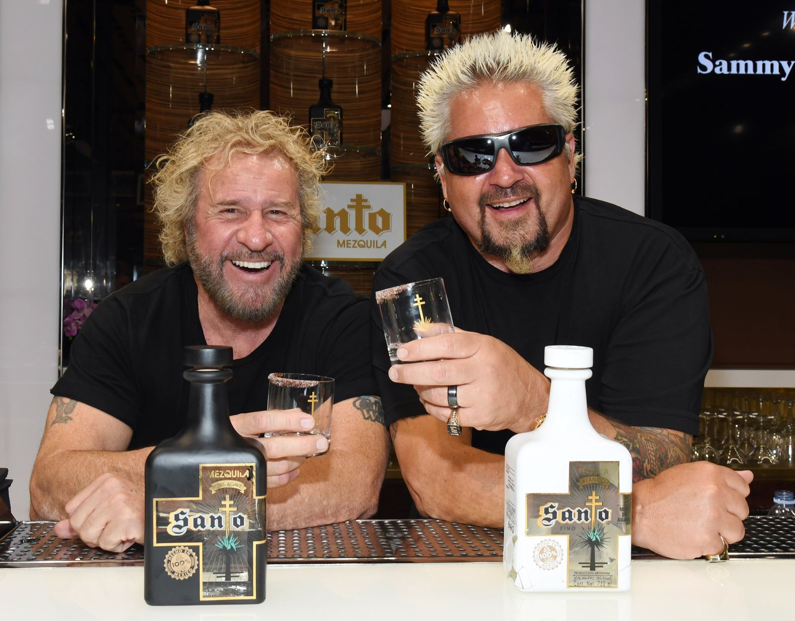 Guy Fieri Is Launching A Tequila With Sammy Hagar And It S The Most Amazing They Ve Ever Tasted In 2020 Guy Fieri Blanco Tequila Tequila