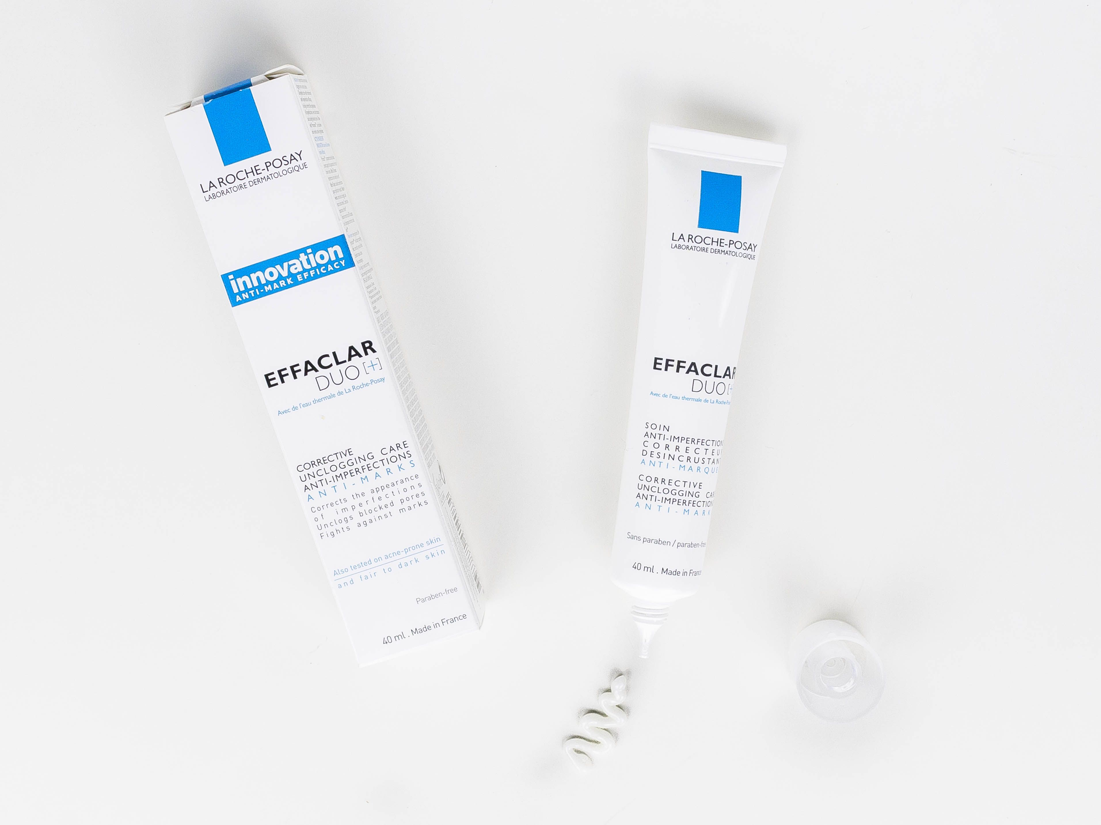 Review on La Roche-Posay Effaclar Duo + #bbloggers #larocheposay #skincare #beauty #beauté #maquillage - www.made-up.fr