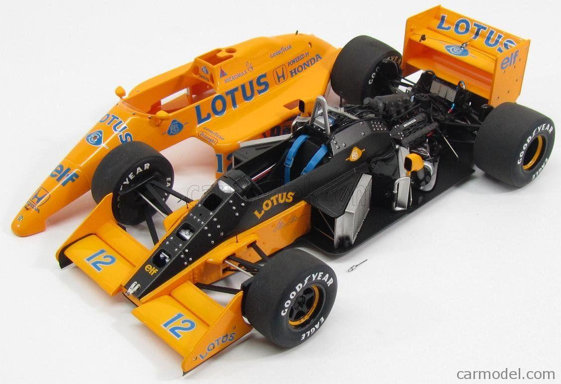 Autoart 88728-1//18 Lotus 99T Honda F1 Japanese Gp 1987 Senna #12 Neu