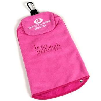 """Spotless Swing Three-In-One Golf Towel 11"""" X 15"""" SS-PK #towel #golf #promotional"""