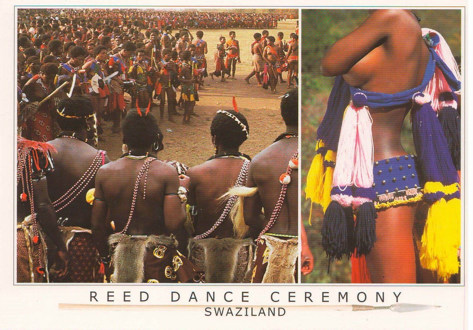 """Reed Dance Ceremony"",  Swaziland"