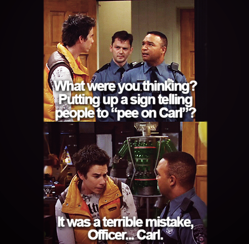 iCarly. I remember how funny this episode was! :D