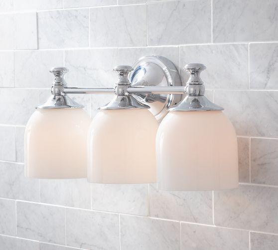 Mercer Triple Sconce Bathroom Sconces Bathroom Sconce
