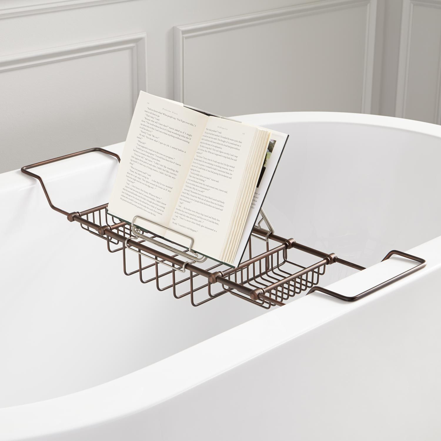 Clawfoot Tub Caddy With Reading Rack | Cosmecol