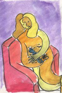 Enveloppe pour l'annonce de la maternité | Magasin de papeterie