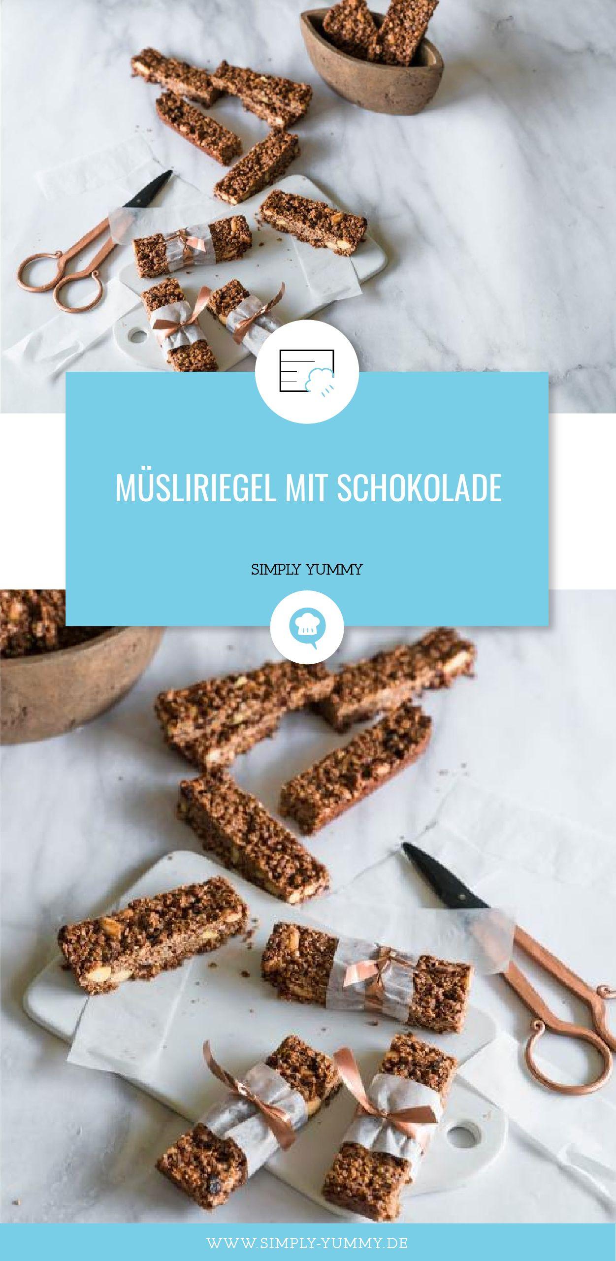 Müsliriegel mit Schokolade | Recipe | Pinterest | Brownie bar ...