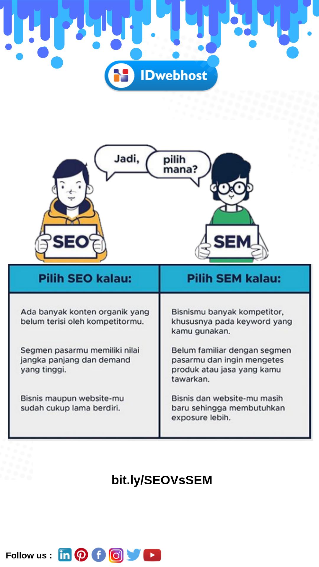 Perbedaan Dan Manfaat Dari Sem Dan Seo Idwebhost Sahabat Marketing Website