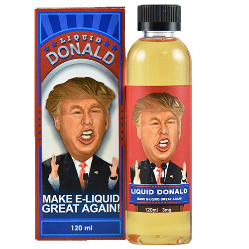 Election E-Liquid Donald - Apple Pie with Ice Cream American as apple pie  with