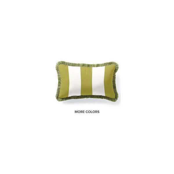 Outdoor Throw Pillows   All Weather Pillows  Monogrammed Outdoor... ❤ Liked  On