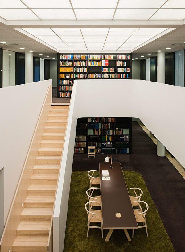 lindahl library o f f i c e design pinterest