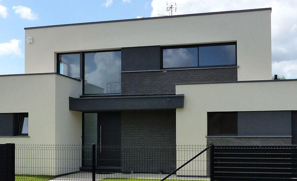 Maison Toit Plat Maison Cubique Maison Architecte Moderne Et Maison