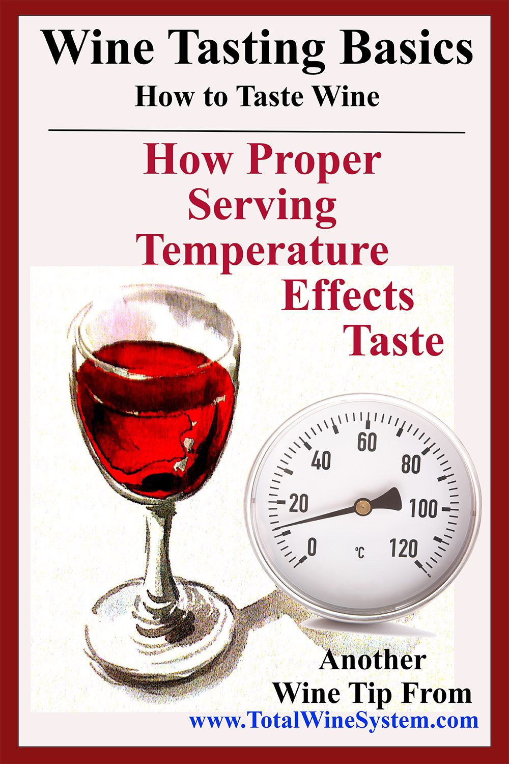 The Role Of Temperature Wine The Total Wine System Wine And Cheese Party Wine Drinks Wine