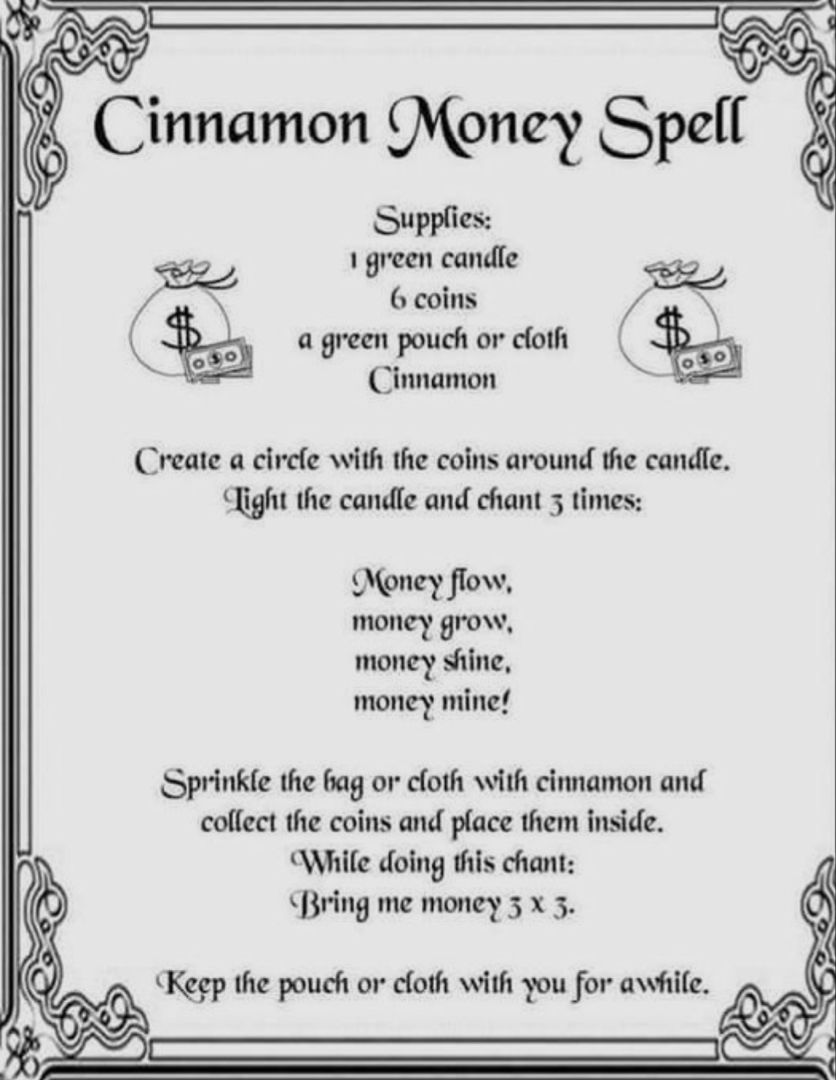 Money Spell | Witchcraft | Magick | Wicca