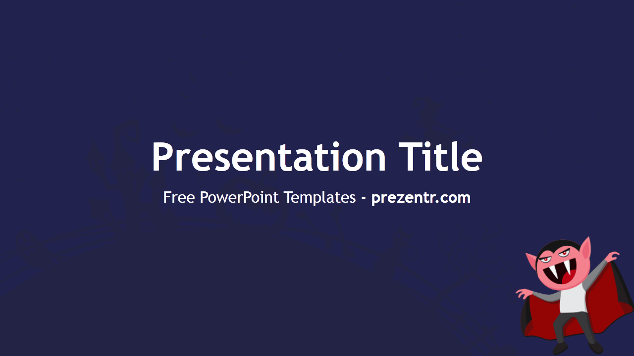 Free halloween template prezentr powerpoint templates powerpoint the free halloween powerpoint template has a blue background for presentations about the halloween costumes masks and toneelgroepblik Images