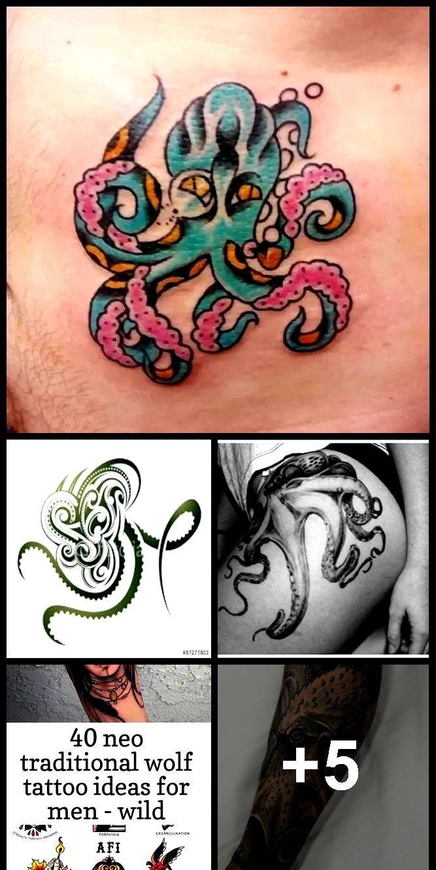 Photo of 60 Octopus Tattoo Designs, die jeden Cent wert sind »EcstasyCoffee –  60 Octopu…